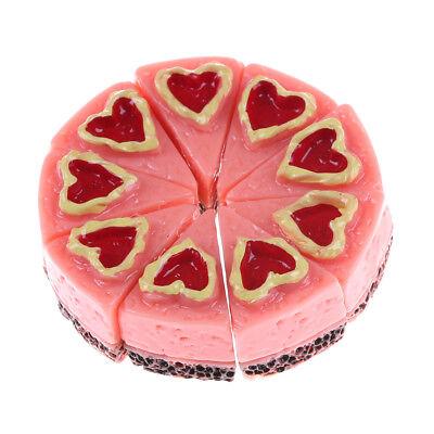 3pcs//Set Miniatur Kuchen Dessert Lebensmittel für 1//12 Puppenhaus Esstische