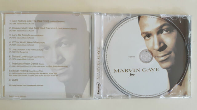 MARVIN GAYE JOY CD  883717005021