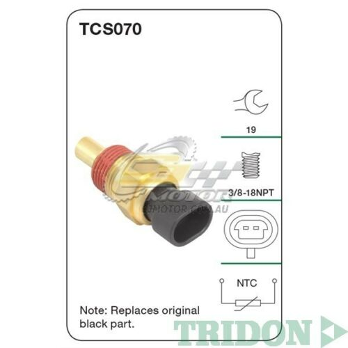 TRIDON COOLANT SENSOR FOR Holden Jackaroo 04950298 3.2L6VD1