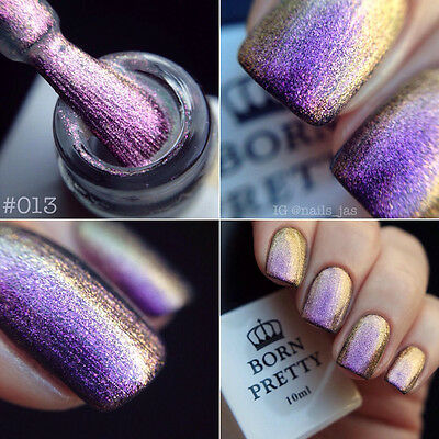 10ml Nail Soak Off Chameleon UV Gel Polish Nail Art UV Gel Varnish Born Pretty