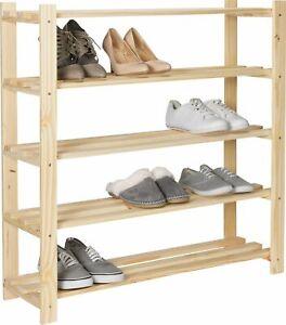 Argos Home 5 Shelf Shoe Storage Rack