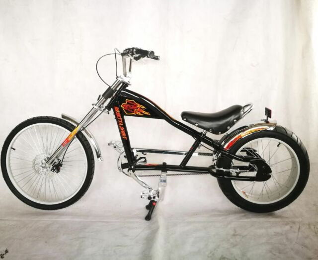 rosetta sport la bicycle lowrider black mo chopper bike. Black Bedroom Furniture Sets. Home Design Ideas