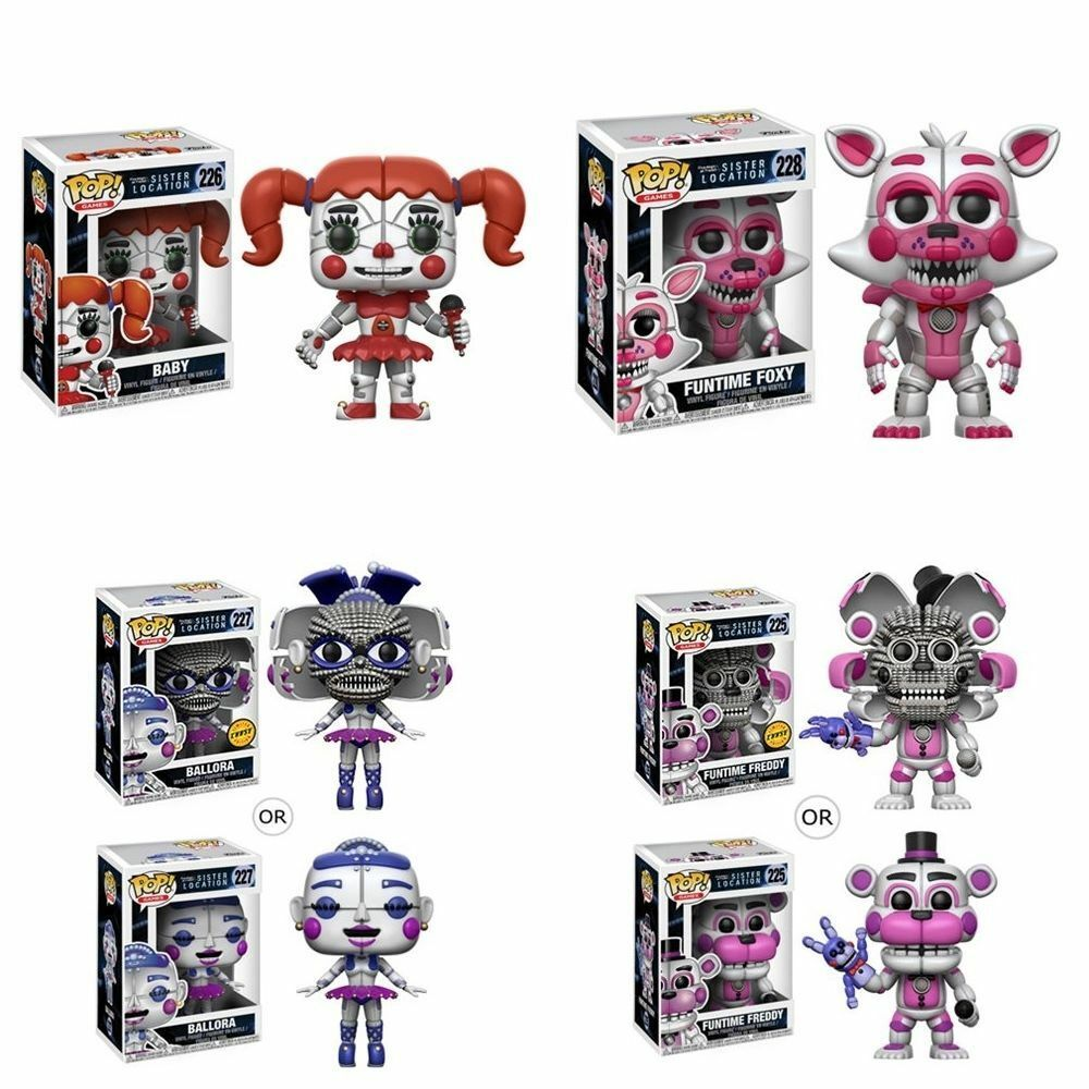 Five Nights at Frossody's Sister Location Funko Pop Vinyl Figures  Set or Ind