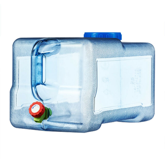 Plastic 18L Fridger Water Dispenser Containers Storage Bottles Carriers Camping