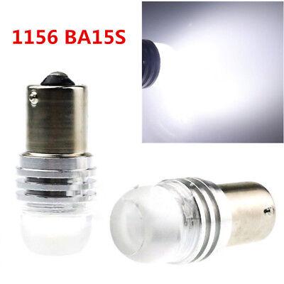 1156 BA15S P21W CREE Q5 LED Auto Car Backup Reverse Light Lamp Bulb White 5W