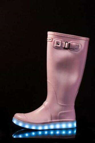 Flashez Ladies Light up Wellies Festival Walking LED Rechargeable Girls Womens