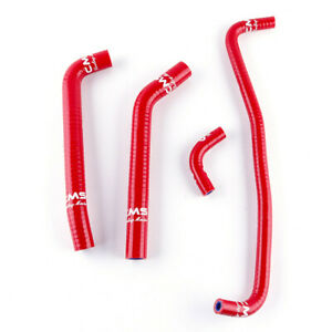 2002-2003 Cannondale 440 Cannibal Speed Blaze Silicone Radiator Hose Kit Red