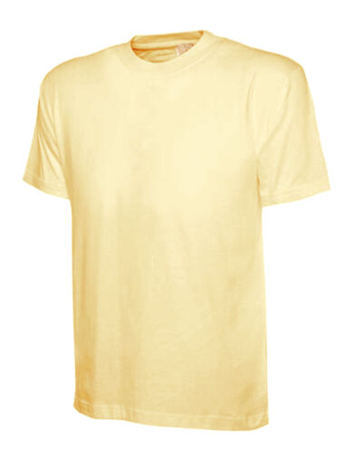 Ladies Loose Fit T-Shirt Size UK 10 to 30 Plus Classic Plain 100/% Cotton Unisex