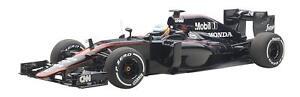 AUTOart 1/18 MCLAREN MP4-30 F1 2015 Espagne Grand prix Fernando Alonso #14 Diecast 18121