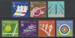 Isle-von-Mann-2012-Olympische-Spiele-London-Set-MNH-Sg-1714-20