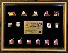 1988 Seoul Korea Olympic Pin Set
