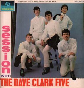 DAVE CLARK FIVE Session With LP VINYL UK Columbia 1964 12 Track Vinyl LP Mono