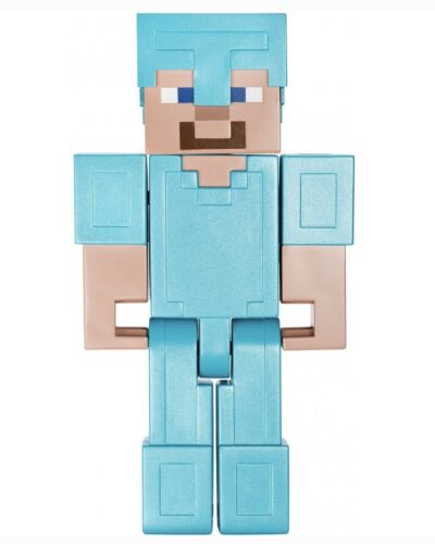 Minecraft Steve in Diamond Armor 8.5 /'/' Large Scale Action Figure Toy
