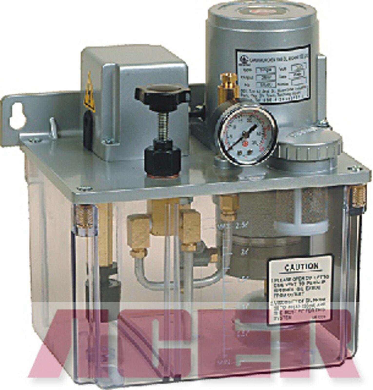 Auto Resistance Type Electric Lubricator CESG-01 110V 2L PLC Bijur