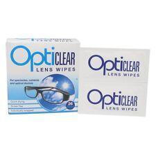 6 x opticlear LENS Salviette Per Occhiali, FOTOCAMERE, dispositivi ottici (6 X 26 salviette)