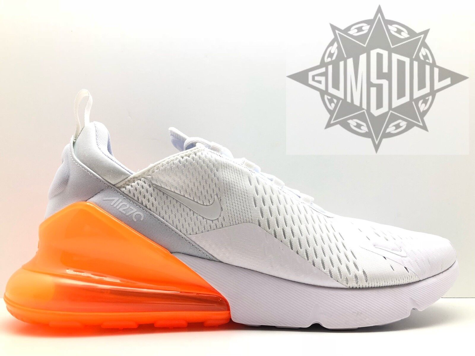 NIKE AIR MAX 270 BIG AIR WHITE TOTAL orange sz 15