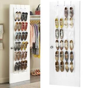 Home-Door-Back-Shoe-Organizer-Rack-Hanging-Storage-Holder-Hanger-Bag-Closet