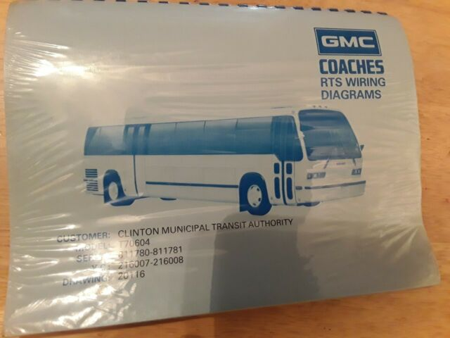 Gmc Coaches Rts Wiring Diagrams Bus Service Manual