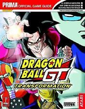 Dragon Ball GT : Transformation STRATEGY GUIDE GAMEBOY ADVANCE