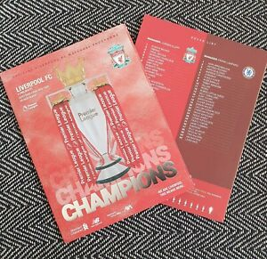 Liverpool-v-Chelsea-BEHIND-CLOSED-DOOR-LIMITED-Programme-22-7-20-READY-TO-POST
