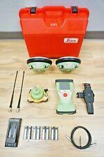 Leica Gs14 Rtk Base Amp Rover Gnss Cs15 Viva Glonass Gps