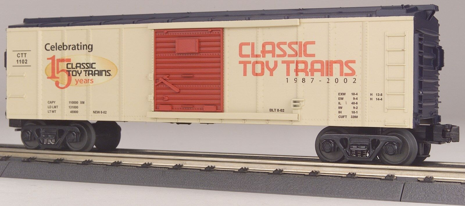 NEW IN BOX MTH CLASSIC TOY TRAINS UNCATALOGED BOX CAR 30-74050