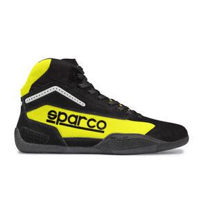 Go-Kart-Sparco-Gamma-KB-4-Kart-Boot-43-Black-Yellow-NEW