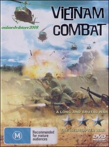 VIETNAM-COMBAT-A-Long-amp-Brutal-amp-Helicopter-WAR-Documentary-DVD-NEW-SEALED