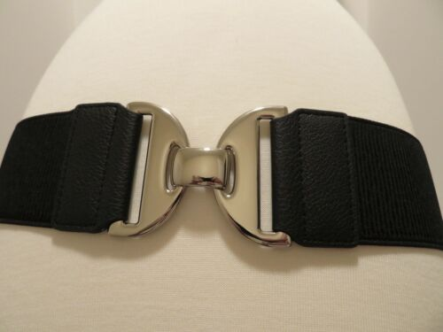 """NEW CHICO/'S  SILVER BUCKLE STRETCH SIZE L 38-44/"""""""