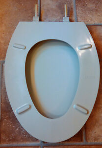 Beneke Quality Solid Plastic Elongated Front Toilet Seat