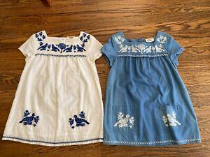 EUC-MINI-BODEN-top-tunic-girls-size-7-8-Set-of-2