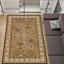 Teppich Klassisch Orientalisch mit Umrandung Wohnzimmer Olive-Grün 8 Größen