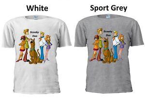 Scooby-Doo-T-Shirt-Cartoon-Funny-Family-Retro-Present-Men-Women-Unisex-TshirtM59