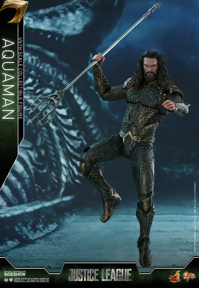 HOT TOYS Aquaman Justice League 1 6 Scale Figure NEW IN BOX