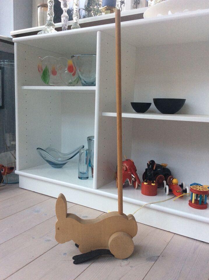 Andet legetøj, Træ-kanin på pind, Arne Nielsen