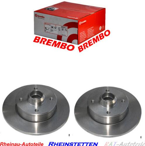 Brembo Bremsscheiben 226mm HA-VW Scirocco 53B 1.8,1.8 16V,diverse Modelle