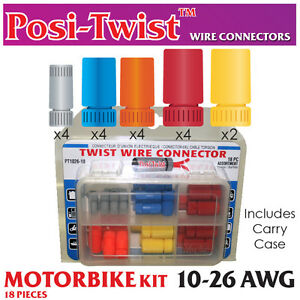 Posi-Twist/® Assortment pack wire connectors 10-26 awg