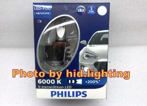 Details about Philips X-treme Ultinon LED Light Bulb White 6000K +200% H8  H11 H16 Fog Lamp