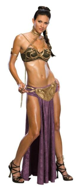 Star Wars Sexy Princess Leia Slave Outfit Adult Costume X-Small