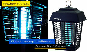 Details about Flowtron Flying Insect Controller 1/2, 1, 1 1/2 Acre Mosquito  Killer Bug Zapper