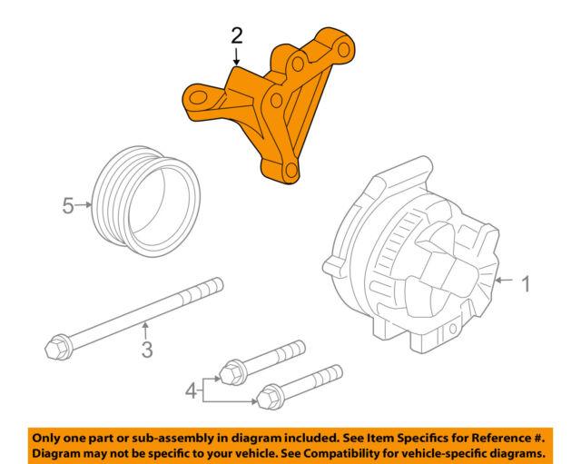 2003-2007 honda accord k24 k24a4 2 4l engine side post mounting bracket oem  for sale online | ebay