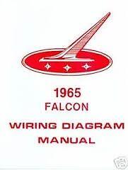 1965 ford falcon and ranchero factory wiring diagrams schematics rh ebay com 1965 ford falcon dash wiring diagram 1965 ford falcon alternator wiring diagram