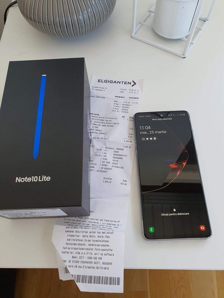 Samsung Note 10 lite, 128GB