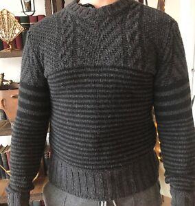 baños Misión Informar  Belstaff Crewneck Men's Sweater in Virgin Wool Size SMALL 450$   eBay