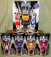 Ninja Megazord White Yellow Blue Pink Mighty Morphin Power Rangers Legacy 5