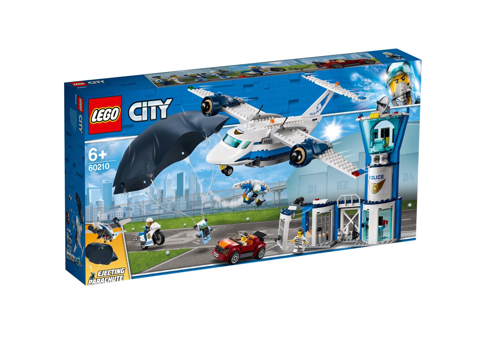 Lego City 60210  police Aviateur Base Nouveau neuf dans sa boîte  en bonne santé