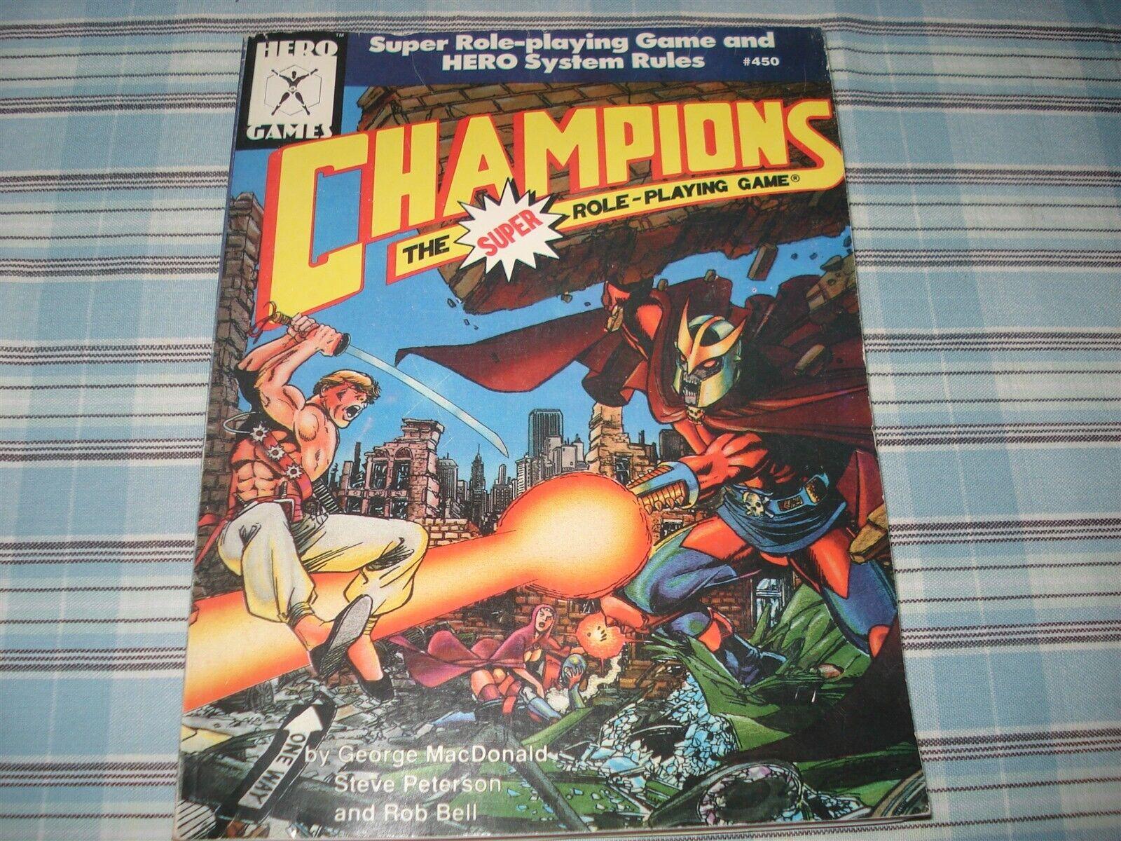 Champions-Campeones del súper Hero juegos de rol Juego - - 450-Raro
