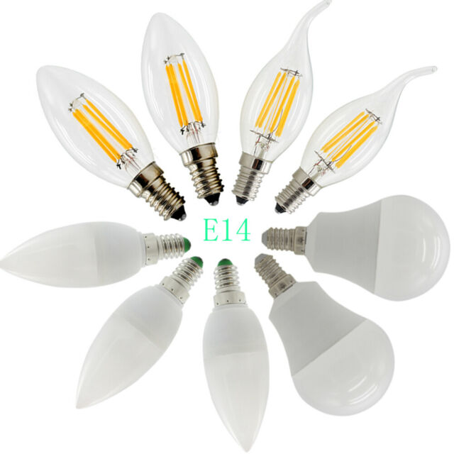 Westgate LED Light Bulbs 5W Chandelier Dimmable Filament Candle Candelabra