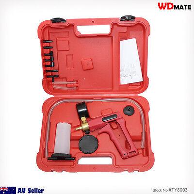 Vacuum Pressure Tester Brake Bleeder Pump Adapters System CAR Workshop 94047001
