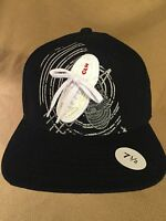 Hat Ball Cap Sz 7.5 Clench Black 100% Acrylic